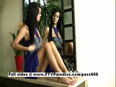 Victoria perfect perfect dark haired does heels masturbation