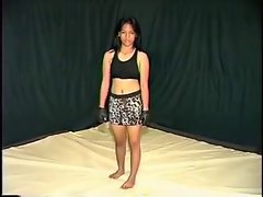 Asian luscious teen fight
