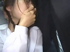 Seductive japanese schoolgirls (18+) cumshots
