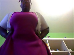 Posh Filthy ebony BBW's Upskirt!