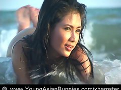 Asian Beauchbeauty Kayla naked for youngasianbunnies