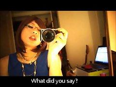 Seductive japanese Cross-dresser - Private Teacher - Saki