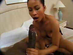 Asian Nympho Gets Butt Shagged By 12 Inch Ebony Dick