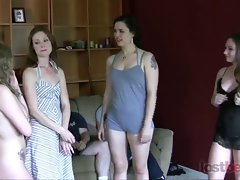 Strip Bizz-Buzz with Sarah, Kandie, Zayda, and Cara (HD)
