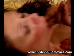 English Mum Sarah Beattie wild backdoor interracial
