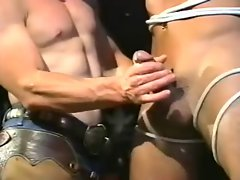 Cowboy domination with blond Chap