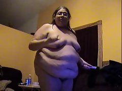 Plump NAKED BLUBBERY Bitch ALMA SMEGO IN SLOW MOTION