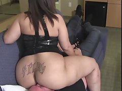 Obese FaceSitting (Huge Tattooed Ass)