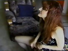 attractive mature readhead masturbates an squirts
