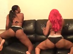 Shawty Red & Mz Peachtree: Moving Black Butt Around - Ameman
