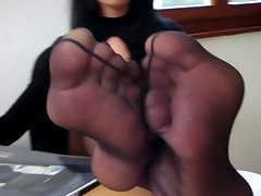 Sensual French Nylonfeet 7