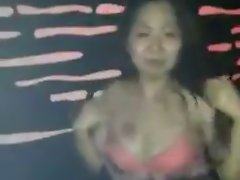 Malaysia Chinese Lady Almost Strip