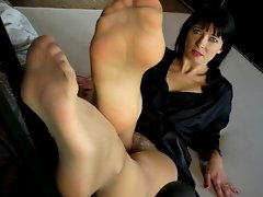 Sexual French Nylonfeet 8