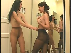 barely legal teens in nylons