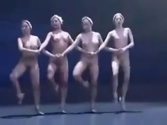 Erotic Dance Execution 13 - Naked Swan Lake