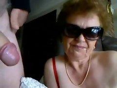 Granny Dick sucking