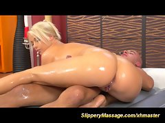 luscious slippery nuru massage sex