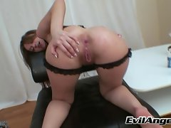 Great attractive Sensual russian vixen accepts toy in narrow bum