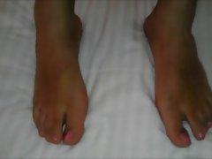 tgirl foot fetish