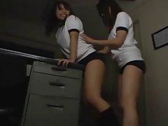 Sensual japanese slutty gals