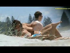 mega tits on beach