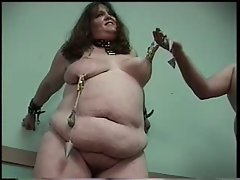 cute bbw slave in pain