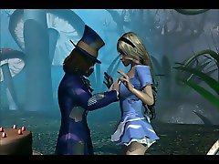 3D - Alice in Wonderland - Part 1