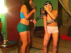 Teens Dancing Sensually