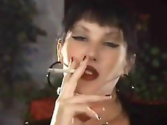 Hot Cougar Smoking Solo