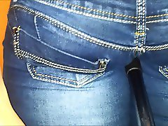 Blue jeans in ass insertion vol 19