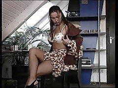 Fancy Strip by a hot German Girl