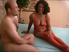 Lady in red get fucked