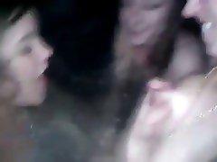 Hottub amateur girls enjoy their friend breastmilk!!