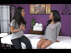 Lesbians Massage