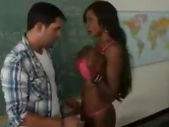 Hot MILF teacher and young student 3