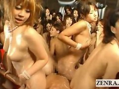 Huge kinky Japan ass rubbing blowjob titjob POV orgy