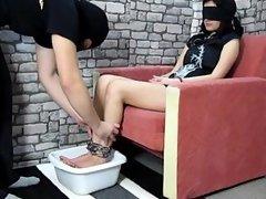 Ice feet torture