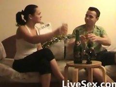 Amateur christmas sex