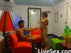 Latin pregnant sex