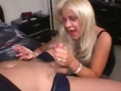 Mature cougar smoking and banging