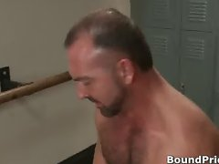 Josh strung and hung from ceiling gay part5