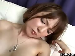 Ryo Tsujimoto gets her nice asian pussy part1