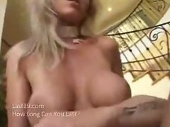 hot blonde milf takes a dick full