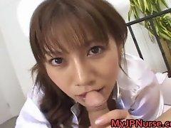 Aki Yatoh Asian nurse likes fucking part5