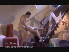 hot milf fucks the painter