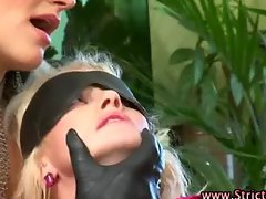 Femdom bdsm fetish bitch blowjob and fuck