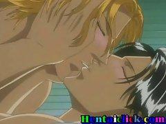 Hentai gay couple hardcore fucked