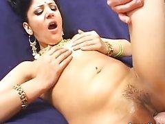 Horny Indian princess prefers fucking