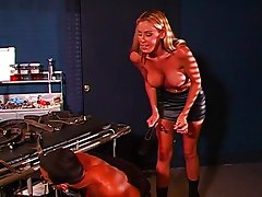 Facesitting blonde dominatrix,Nicole Sheridan