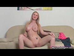 Big tits blonde showing part6